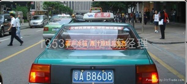 出租車LED車頂屏 1