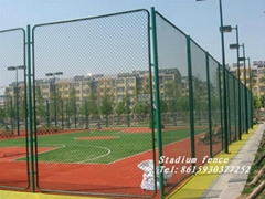 Stadium chain link wire mesh Fence