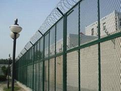 监狱安全隔离电焊网护栏