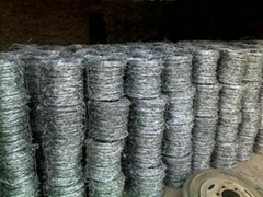 包塑镀锌刺绳
