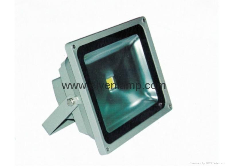 IP65优越的亮度节能LED照明射灯外观 1
