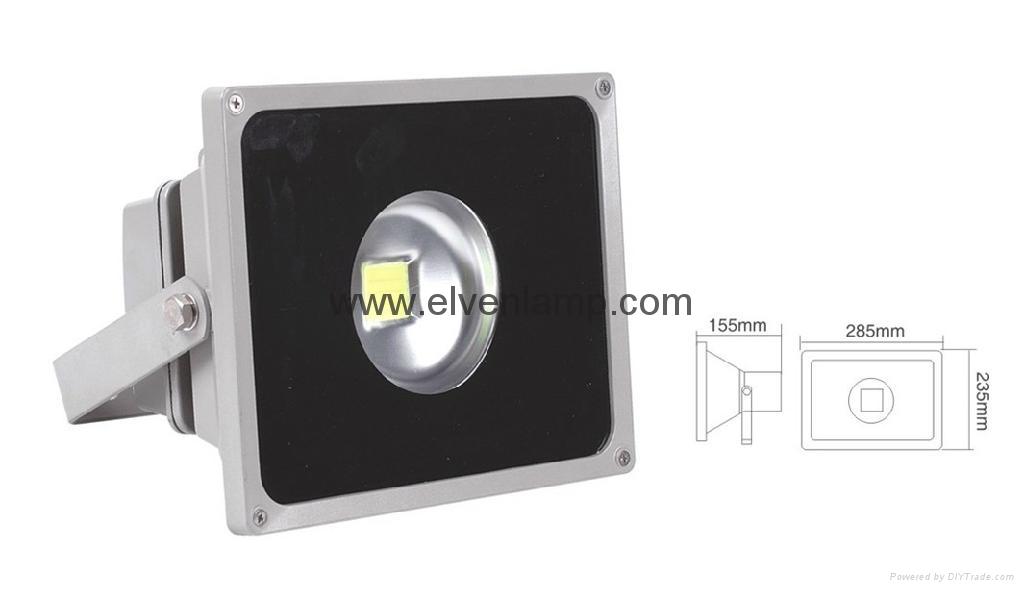 IP65優越的亮度節能LED照明射燈外觀 2