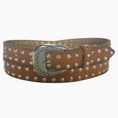 Skinny Ladies Leather Belt
