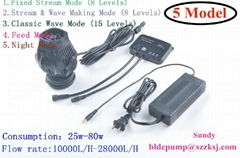 aquarium water pump DC12V 24V