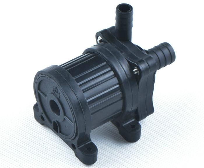 12v 24v mini brushless dc submersible water pump dc40 for Dc motor water pump