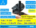 micro brushless dc water pump ZKSJ DC PUMP DC50K