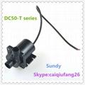 DC12V/24V micro Brushless DC Pump ZKSJ DC50 pump