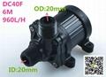 Brushless Magnetic Pump Water Pump  ZKSJ