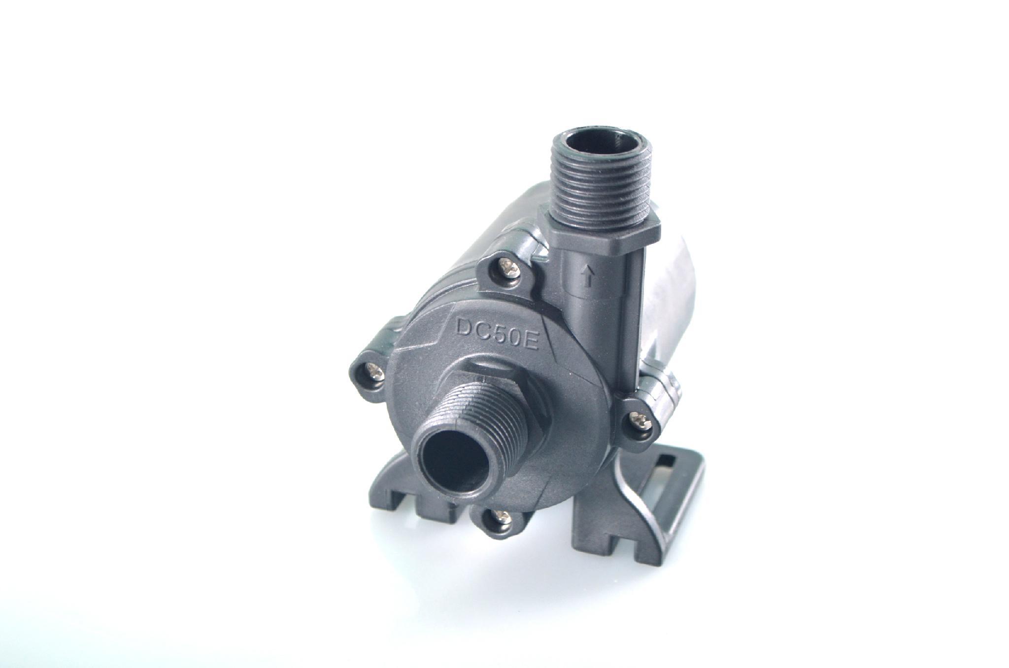 Solar dc hot water circulation pump brushless motor water for Dc motor water pump