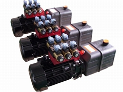 hydraulic power pack for tyre changer