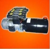 hydraulic power pack with 5 va  e for tyre changer