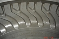 solid forklift tyre mould