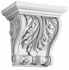 歐式高檔PU裝飾建材雕花象鼻KI-0006