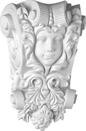 歐式高檔PU裝飾建材 雕花象鼻KI-0033