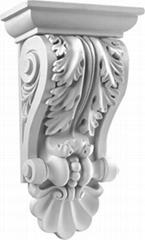 歐式高檔PU裝飾建材雕花象鼻KI-0024