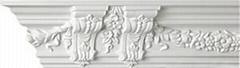 歐式PU裝飾建材雕花角線板KA-0204