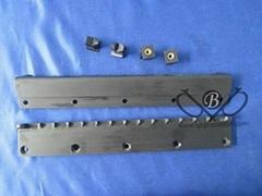 Precision Black POM Parts with Copper Inser in China QBPrecision Technology