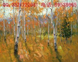 皓业无缝壁画壁纸(风景油画) 1