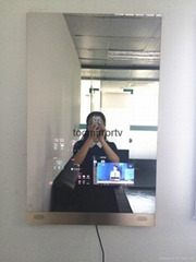 Magic Bathroom Mirror TV Mirror Advertising Display