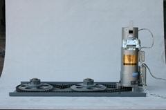 Inorganic double curtain fireproof rolling door motor