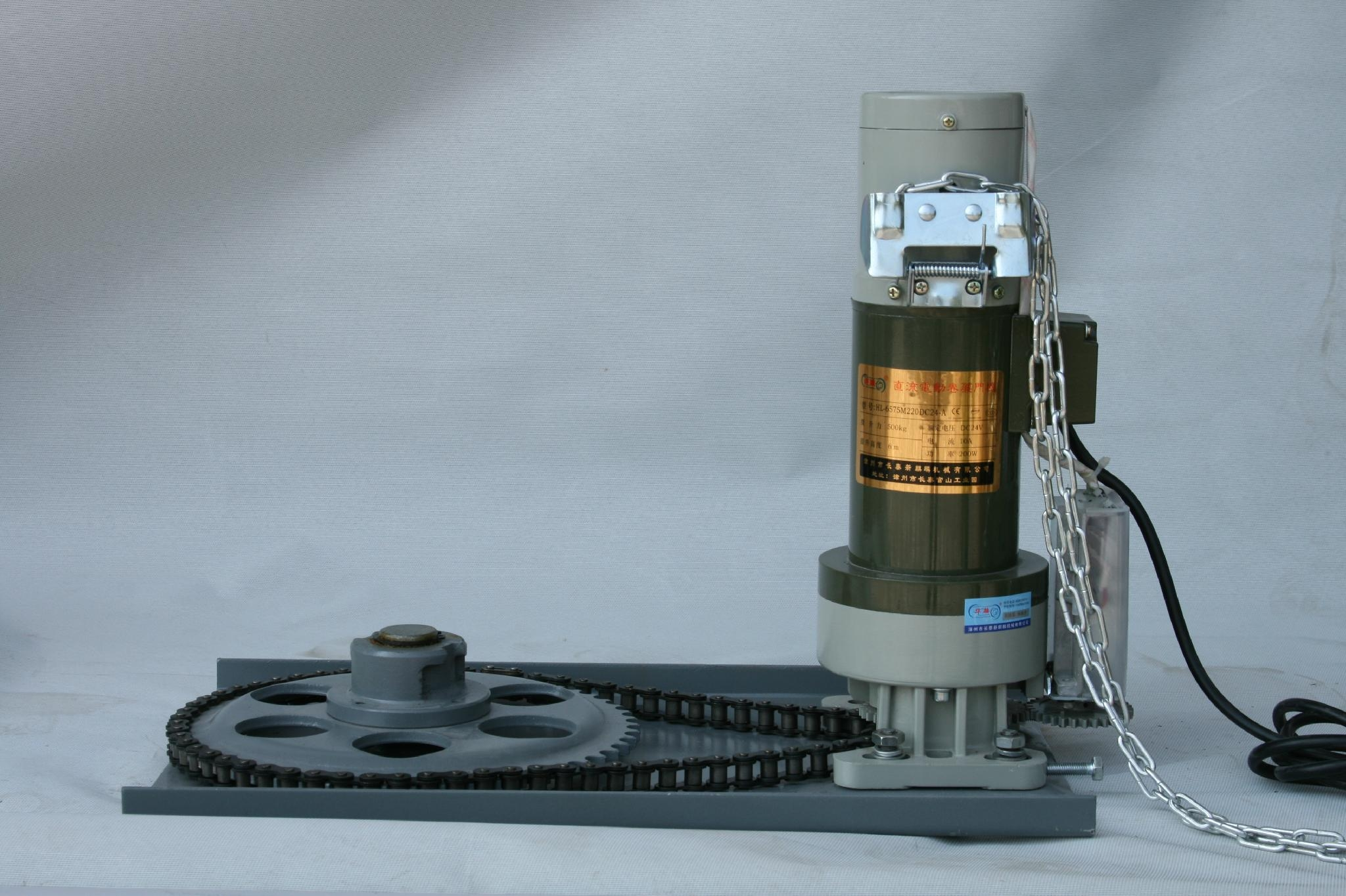 Roller door motor(DC24V-500KG motor) 1