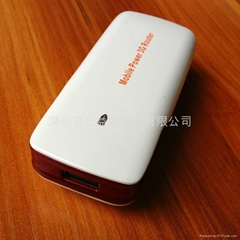 3G無線路由器移動電源