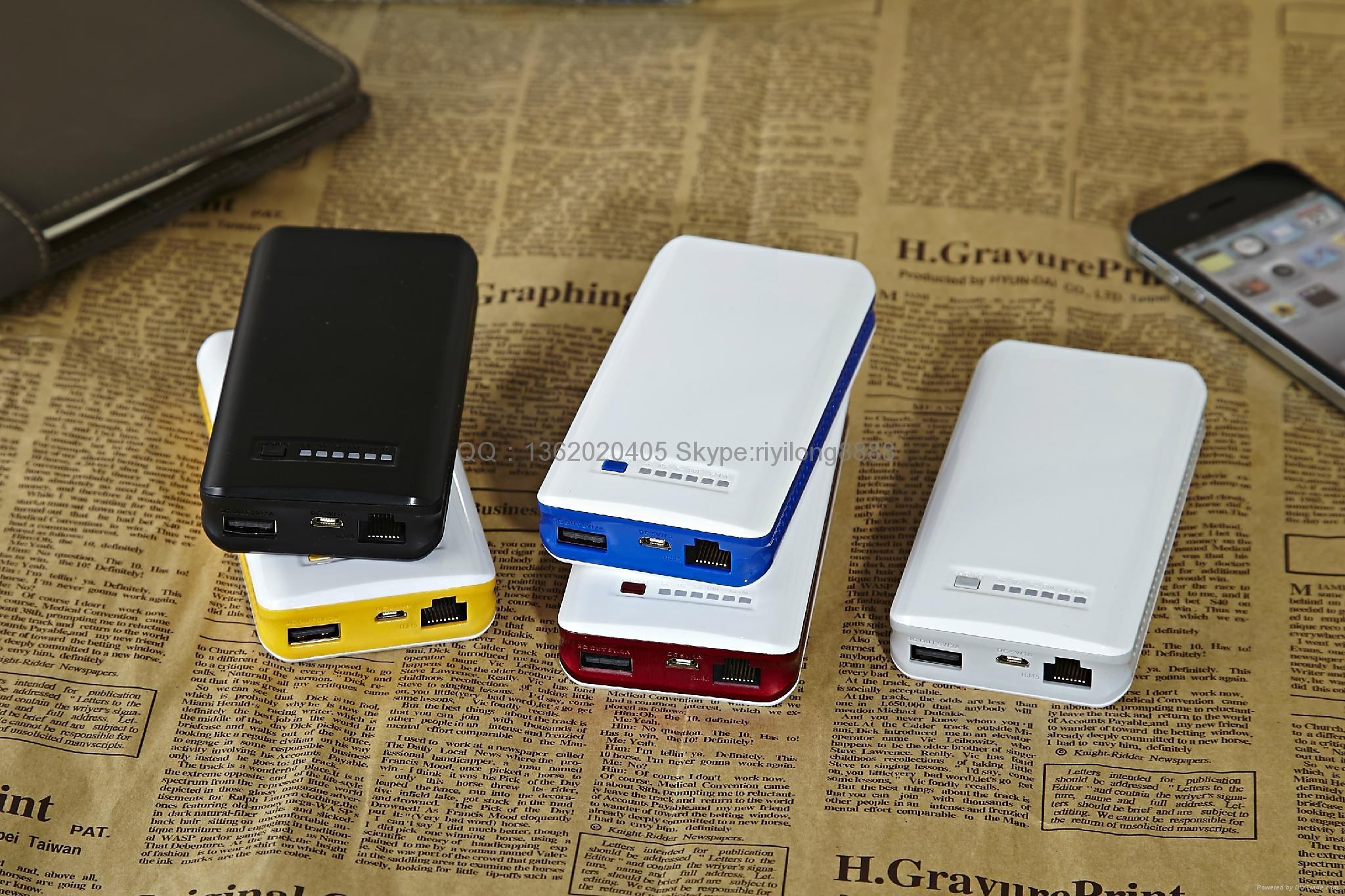 Wireless router mobile power charging treasure 5