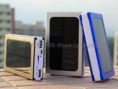 太阳能移动电源 光能充电宝 移动电源厂家