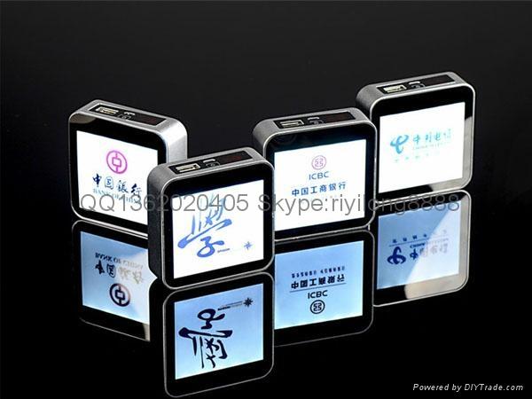 The digital photo frame, mobile power charging treasure cube 1
