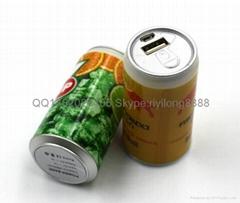 易拉罐充电宝  可乐罐移动电源 工厂