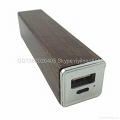 木質移動電源 環保木頭充電寶