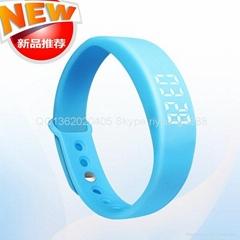 智能手環 LED提醒 計步器手錶【新款】