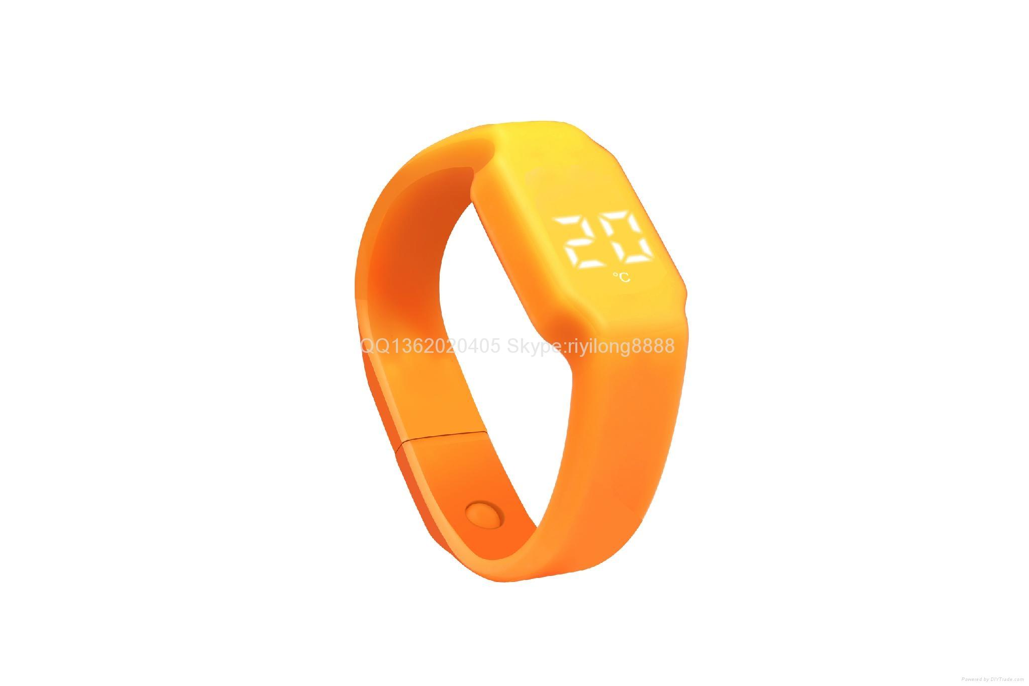 智能U盤手環 手錶計步一體 2