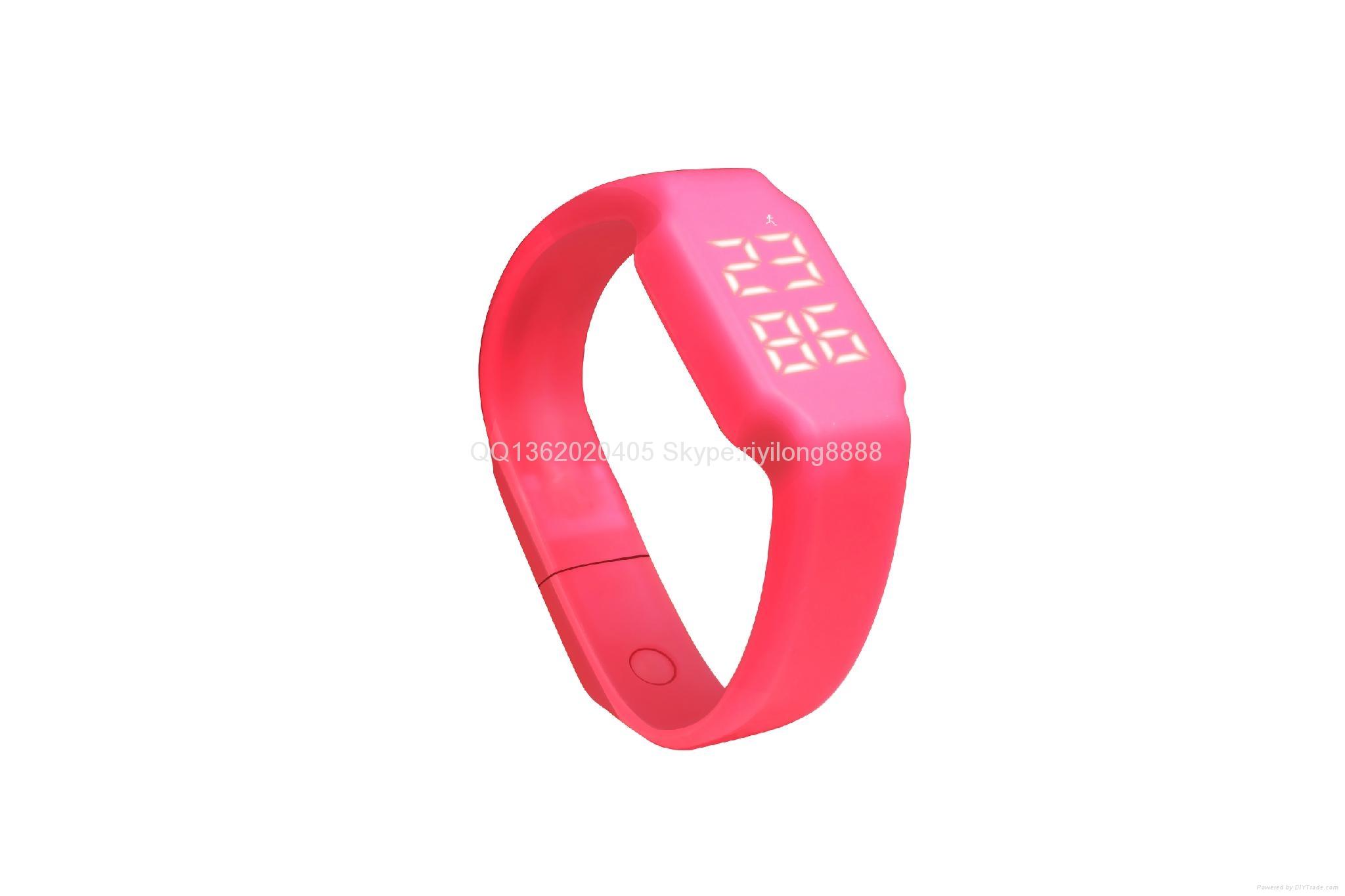 智能U盤手環 手錶計步一體 4