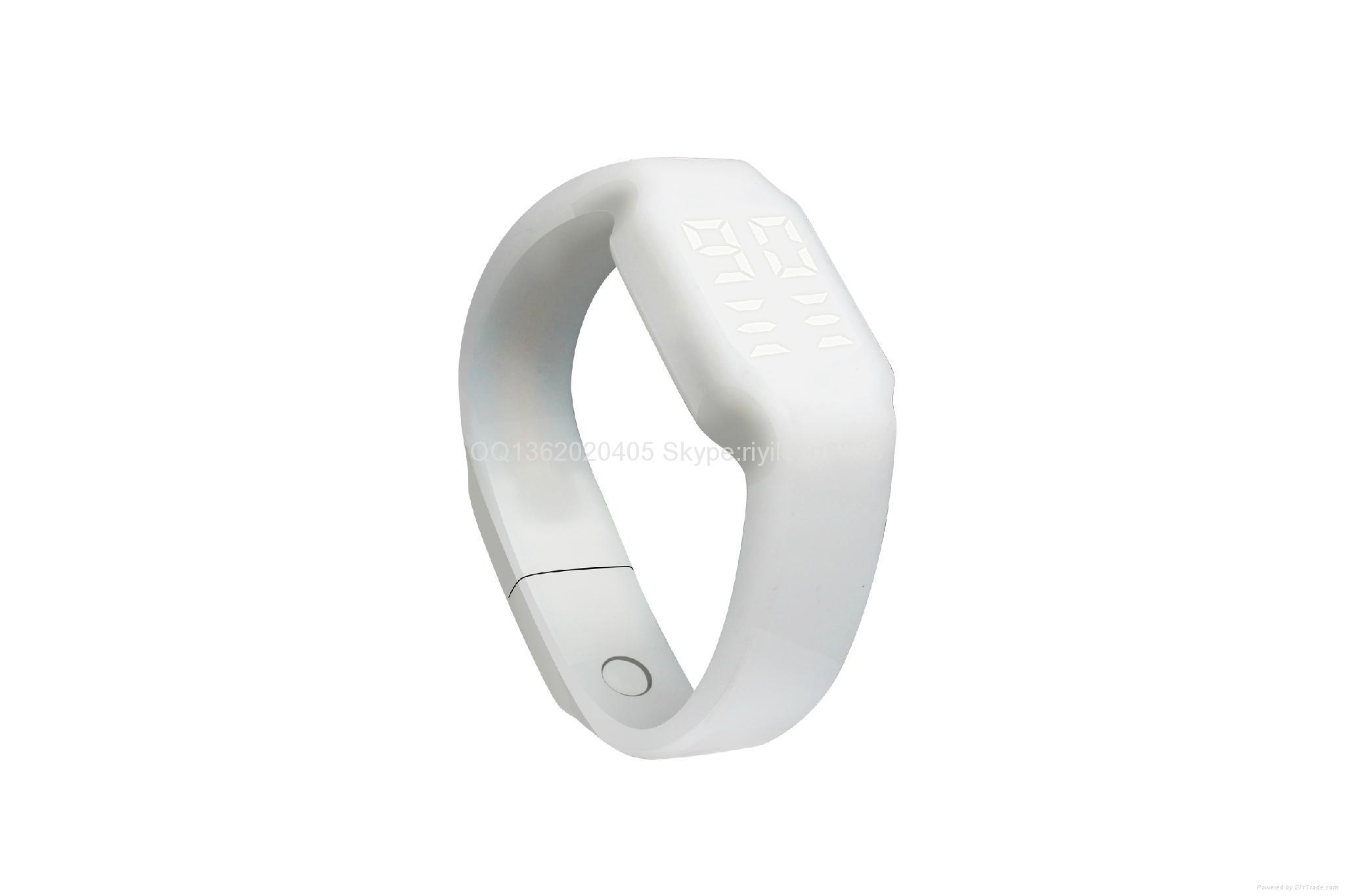 智能U盤手環 手錶計步一體 5