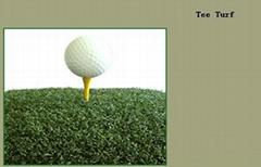 Golf tee turf
