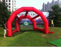 充氣高爾夫練習網