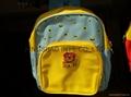 Fashion cute children's school bag polyester made