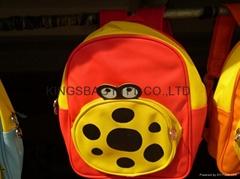 Child school bag,backpack for infant,cute children's bag polyester made