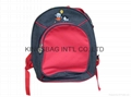 Child school bag,backpack for infant,cute children's bag polyester made