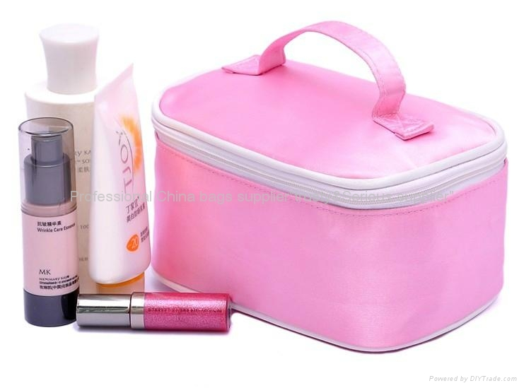 Clear Pvc Cosmetic Bag With Handle Vanity Case Transpa Made 3