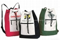 600D polyester drawstring backpack