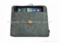 Ipad case felt made, mobile case PU made,cell phone case
