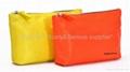 Colored PU cosmetic bag,makeup bag,clutch bag