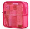 Ladies'mesh carrying bag for cosmetics
