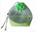 mesh carrying bag for daily use,promotion cosmetic bag mesh made,beauty bag
