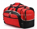 Travel bag,oxford duffle bag,red leisure sports bag