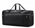 Leisure sports bag,oxford travel bag,black duffle bag polyester made