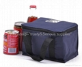 polyester cooler bag,insulated bag as gift,promotion cooler tote bag