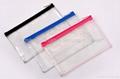 Clear PVC cosmetic bag, transparent PVC makeup bag,PVC cosmetic pouch